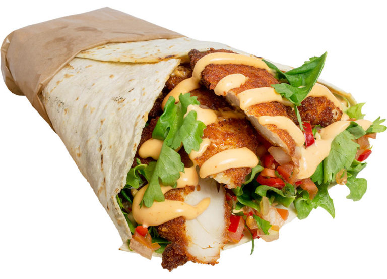 Crispy Chicken Burrito